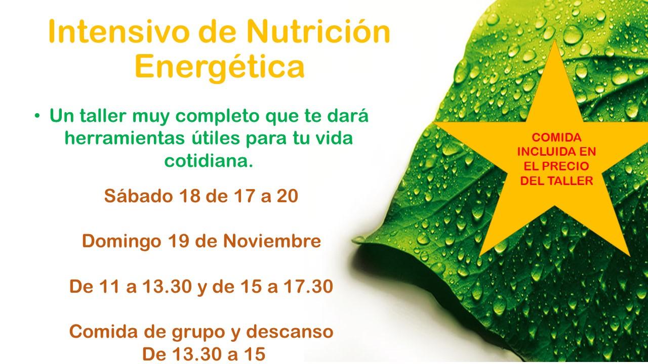 INTENSIVO NUTRICION ENERGETICA